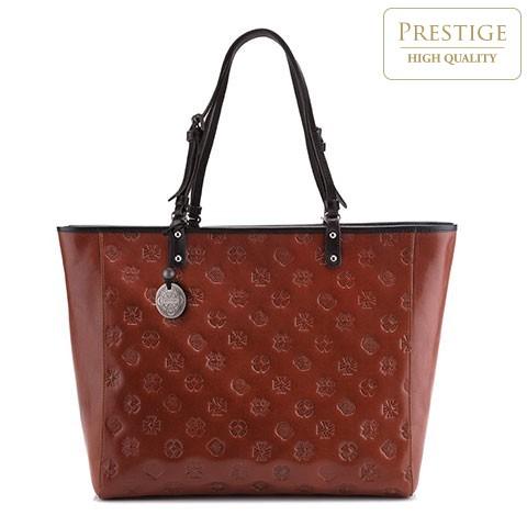 Dámská kabelka, hnědá, 33-4-003-5L, Obrázek 1
