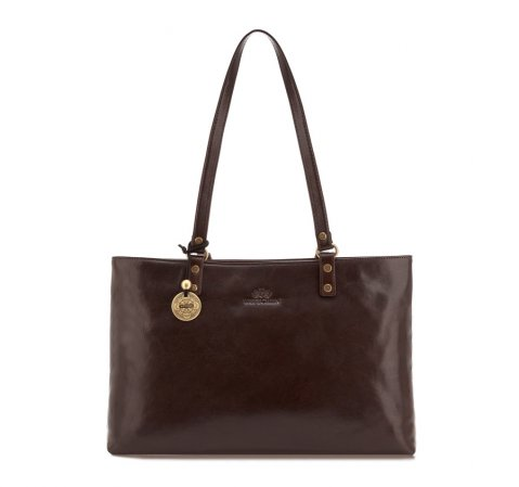 Dámská kabelka, hnědá, 35-4-205-4, Obrázek 1