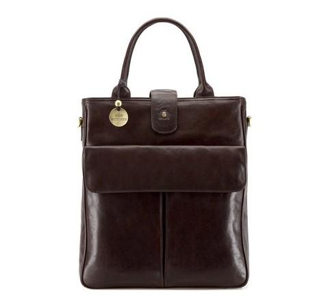 Dámská kabelka, hnědá, 39-4-528-1, Obrázek 1