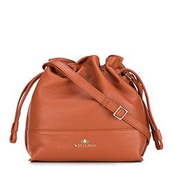 Dámská kabelka, hnědá, 88-4E-201-5, Obrázek 1