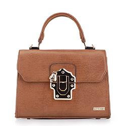 Dámská kabelka, hnědá, 88-4Y-606-5, Obrázek 1