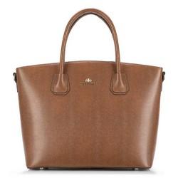 Dámská kabelka, hnědá, 89-4-302-4, Obrázek 1