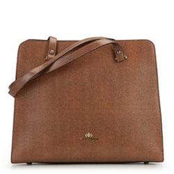 Dámská kabelka, hnědá, 89-4-303-4, Obrázek 1