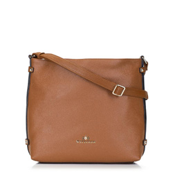 Dámská kabelka, hnědá, 89-4E-202-5, Obrázek 1