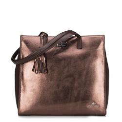 Dámská kabelka, hnědá, 89-4E-366-5, Obrázek 1