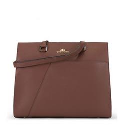 Dámská kabelka, hnědá, 89-4E-415-4, Obrázek 1