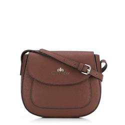 Dámská kabelka, hnědá, 89-4E-416-4, Obrázek 1