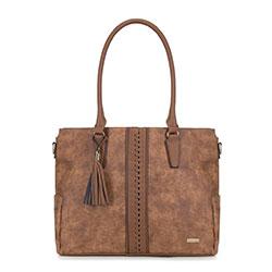 Dámská kabelka, hnědá, 89-4Y-754-5, Obrázek 1