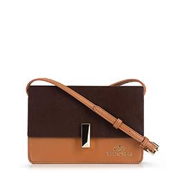 Dámská kabelka, hnědá, 90-4E-356-5, Obrázek 1