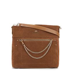 Dámská kabelka, hnědá, 90-4E-360-5, Obrázek 1