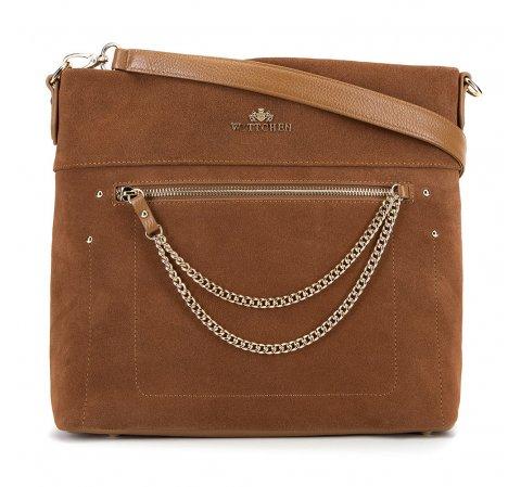 Dámská kabelka, hnědá, 90-4E-360-1, Obrázek 1