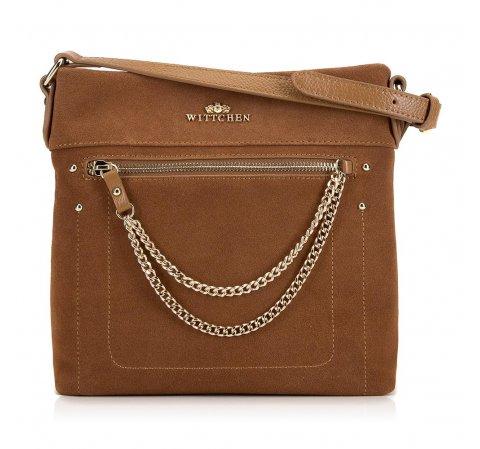 Dámská kabelka, hnědá, 90-4E-361-3, Obrázek 1