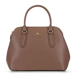 Dámská kabelka, hnědá, 90-4E-607-5, Obrázek 1