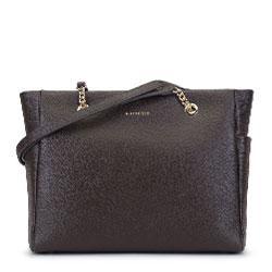 Dámská kabelka, hnědá, 93-4E-605-4, Obrázek 1