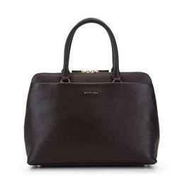 Dámská kabelka, hnědá, 93-4E-607-4, Obrázek 1