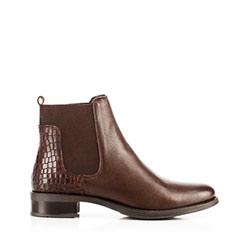 Dámské boty, hnědá, 91-D-301-4-38, Obrázek 1