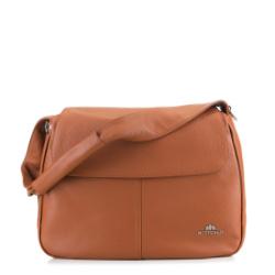 Dámská kabelka, hnědá, 89-4E-505-5, Obrázek 1
