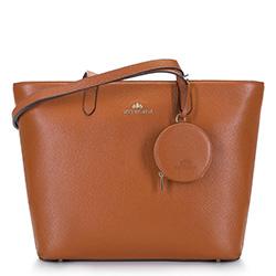 Dámská kabelka, hnědá, 92-4E-642-5, Obrázek 1