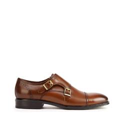 Panské boty, hnědá, 93-M-518-4-39, Obrázek 1