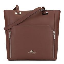 Dámská kabelka, hnědá, 89-4E-417-4, Obrázek 1
