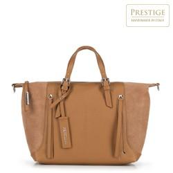 Dámská kabelka, hnědá, 90-4E-007-5, Obrázek 1
