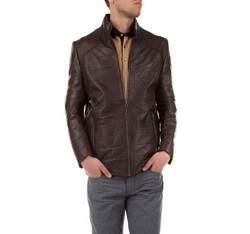 Pánská bunda, hnědá, 79-09-952-4-S, Obrázek 1