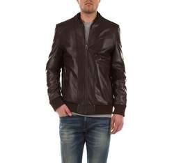 Pánská bunda, hnědá, 79-09-953-4-S, Obrázek 1