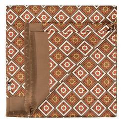 Pánská šála, hnědá, 90-7M-S40-X1, Obrázek 1