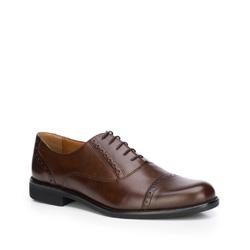 Pánské boty, hnědá, 87-M-700-4-43, Obrázek 1