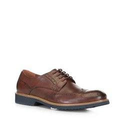 Pánské boty, hnědá, 88-M-916-4-45, Obrázek 1