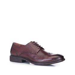 Pánské boty, hnědá, 88-M-931-4-40, Obrázek 1