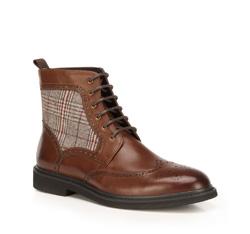 Panské boty, hnědá, 89-M-517-4-44, Obrázek 1
