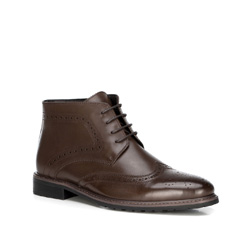 Pánské boty, hnědá, 89-M-920-4-43, Obrázek 1