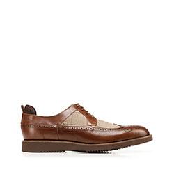 Pánské boty, hnědá, 92-M-502-5-43, Obrázek 1