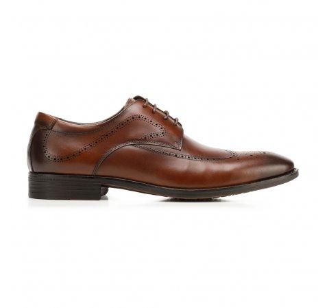 Pánské boty, hnědá, 92-M-906-4-45, Obrázek 1