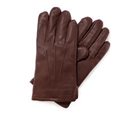 Pánské rukavice, hnědá, 39-6-308-D-M, Obrázek 1