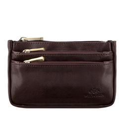 Příruční taška s poutkem, hnědá, 21-2-016-44, Obrázek 1
