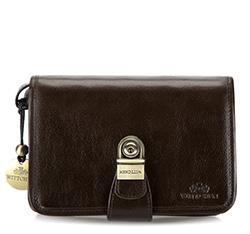 Příruční taška s poutkem, hnědá, 21-3-039-4, Obrázek 1