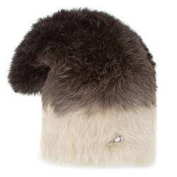 Dámská čepice, hnědo-béžová, 89-HF-204-X3, Obrázek 1