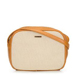 Dámská kabelka, hnědo-béžová, 92-4Y-300-5, Obrázek 1