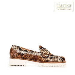 Dámské boty, hnědo-béžová, 92-D-127-5-38_5, Obrázek 1