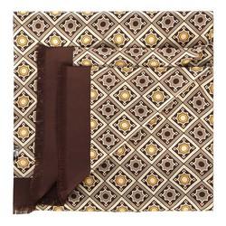 Pánský šátek, hnědo-béžová, 88-7M-S40-X2, Obrázek 1