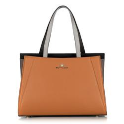 Dámská kabelka, hnědo-černá, 89-4E-506-5, Obrázek 1