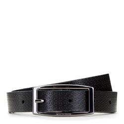 Dámský opasek, hnědo-černá, 91-8D-304-1-XL, Obrázek 1