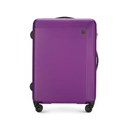 Közepes méretű bőrönd, lila, 56-3A-622-44, Fénykép 1