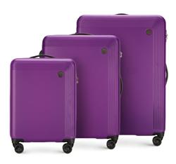 Bőröndszettek, lila, 56-3A-62S-44, Fénykép 1