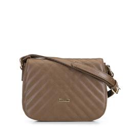 Женская сумка через плечо, верблюд, 91-4Y-608-4, Фотография 1