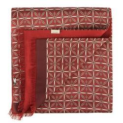 Pánský šátek, kaštanově - bílá, 88-7M-S41-X3, Obrázek 1