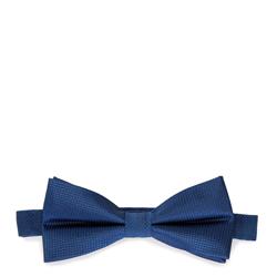 Férfi csokornyakkendő selyemből, kék, 91-7I-001-7, Fénykép 1