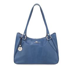 Női táska, kék, 15-4-061-NJ, Fénykép 1